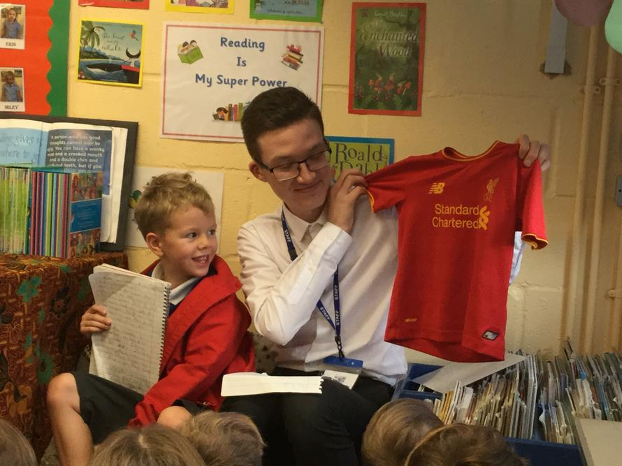 We learnt all about the kit Liverpool players wear