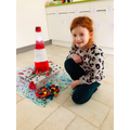 Emilia's fantastic lighthouse.