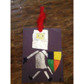 Create a knight using some tin foil