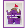 Build a fairytale castle using toilet roll tubes