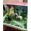 Make a book in a box ...this one is Rapunzel