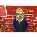 Lia made some specs from junk modelling.