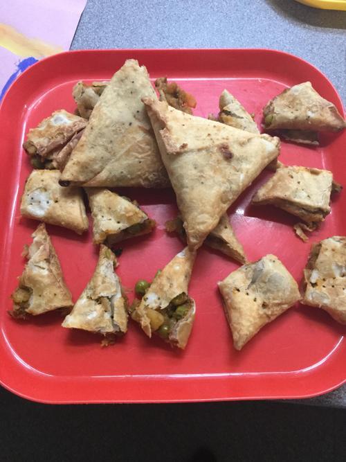 Samosas for Diwali