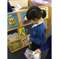 Scavenger hunt for World Book Day