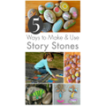 Decorate stones inspired by your favourite book
