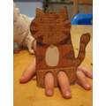 Make a finger puppet of your favourite book character