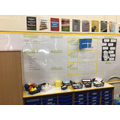 Our maths working wall