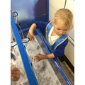 We explored capacity in the water.