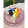 We looked at other colour experiments.
