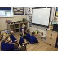 We video called F1 and the other F2 class to celebrate Harvest together.