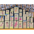 Our pastel pictures of Handa.