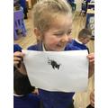 """""""I drew a unicorn."""""""