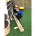 Constructing a wall