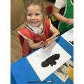 """""""My bat has got two wings and big ears to hear moths."""""""