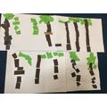 Jungle/Rainforest Collage