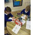 We have made Harvest cards.