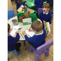 We used non-fiction books to research being healthy.