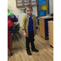 We looked at some traditional clothes that may be worn.