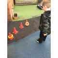 We practised our phonics skills.