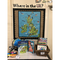 We have been learning about the countries of the UK