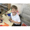 Exploring using tools in the dough