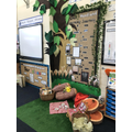 Our Woodland Learning Journey display