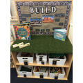 We have been learning about different buildings