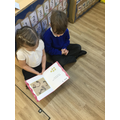 We enjoyed sharing counting books together.