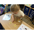 We used our phonic knowledge to blend to read.