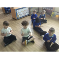 We made music with claves.