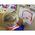 """""""I am painting Mummy."""""""