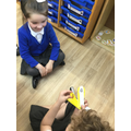 We have helped each other practise our sounds.