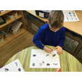 We used our phonic knowledge to segment to spell.