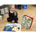 We read Christmas stories.
