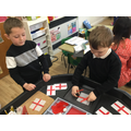 We talked about celebrating St. George's Day.