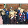 We wore our poppies for the two minutes silence.
