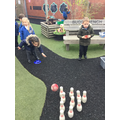 We have been playing games with equipment.