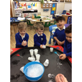 We explored different ways to melt ice to set the animals inside free.