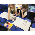 Developing our colour mixing skills