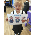 We decorated pig characters.