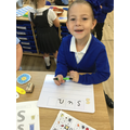 Segmenting to spell