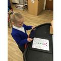 """""""I made a gingerbread man like the lady with three buttons."""""""