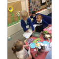 We enjoyed roleplaying with our friends.