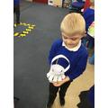 We made lanterns.