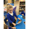 We created Bonfire Night scenes using a variety of reources.