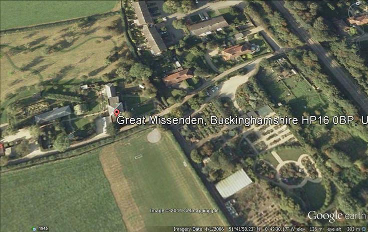 Roald Dahl's homeplace at Great Missenden