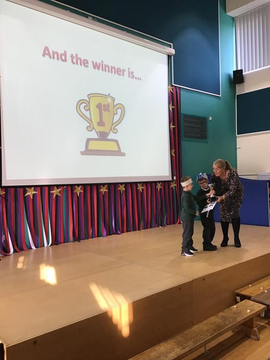 The proud winners - Year 1