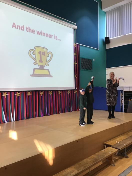 The proud winners - Year 1