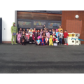 We enjoyed dressing up as our favourite characters