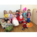 Dressing up as our favourite characters